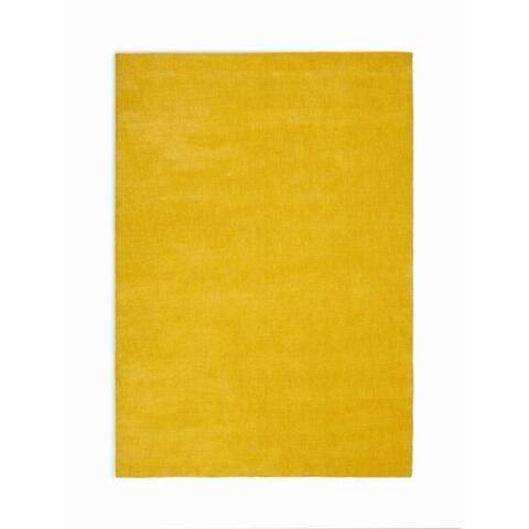 Calvin Klein Home L.A. Hand-Loomed Solid Area Rug