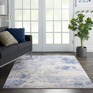 Nourison Sleek Textures Overdyed Area Rug