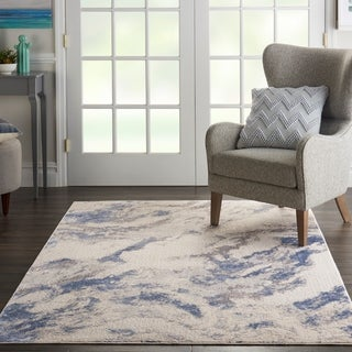 Porch & Den Heartwood Textured Marble Area Rug