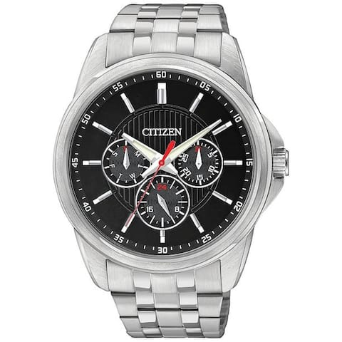 Citizen AG8340-58E Men's Eco-Drive Black Eco-Drive Watch