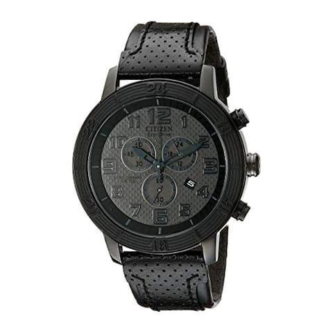 Citizen AT2205-01E Men's WDR Black Eco-Drive Watch