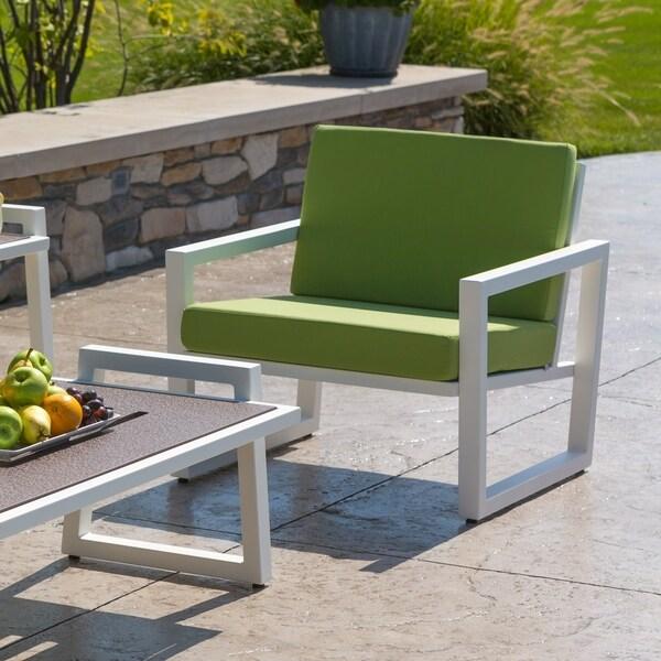 Shop Elan Furniture Vero Outdoor Lounge Chair Ginkgo Sunbrella