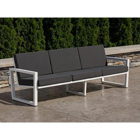 Elan Furniture Vero Outdoor Sofa - Coal Sunbrella Cushions