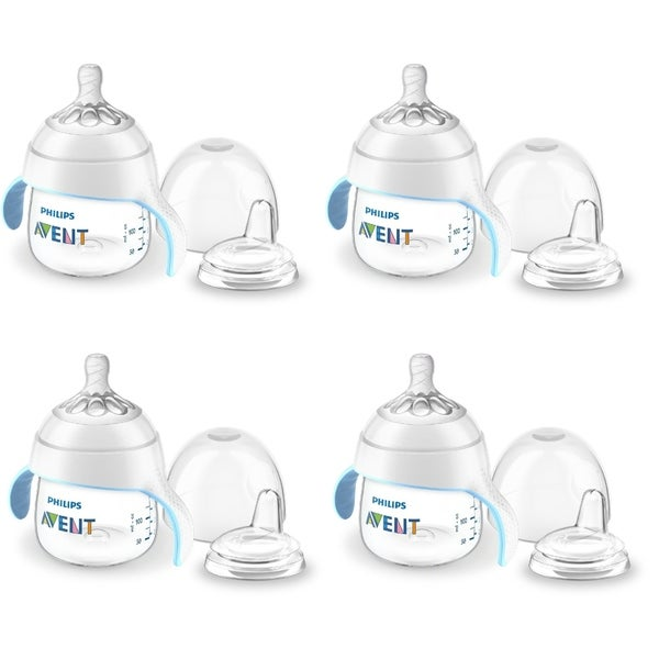 Philips Avent My Natural Trainer Sippy Cup Clear 5oz
