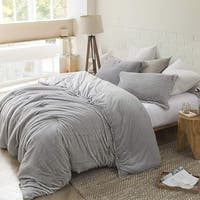 Coma Inducer Oversized Comforter - Arctic Fox - Tundra Gray King Size (As Is Item)