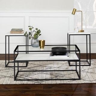 Carbon Loft Cohn 3-piece Metal Table Set