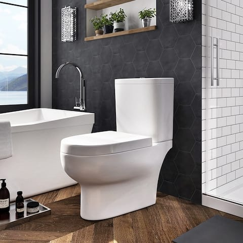 OVE Decors Beverly 2-Piece Smart Toilet - N/A
