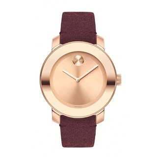 Link to Movado 3600447 Women's Bold Rose Gold Quartz Watch Similar Items in Men's Watches