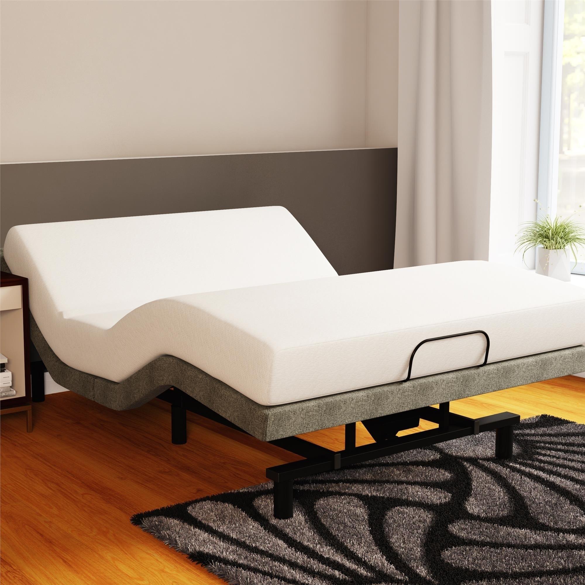 Shop Signature Sleep Memoir 8 Inch Memory Foam Mattress And Power