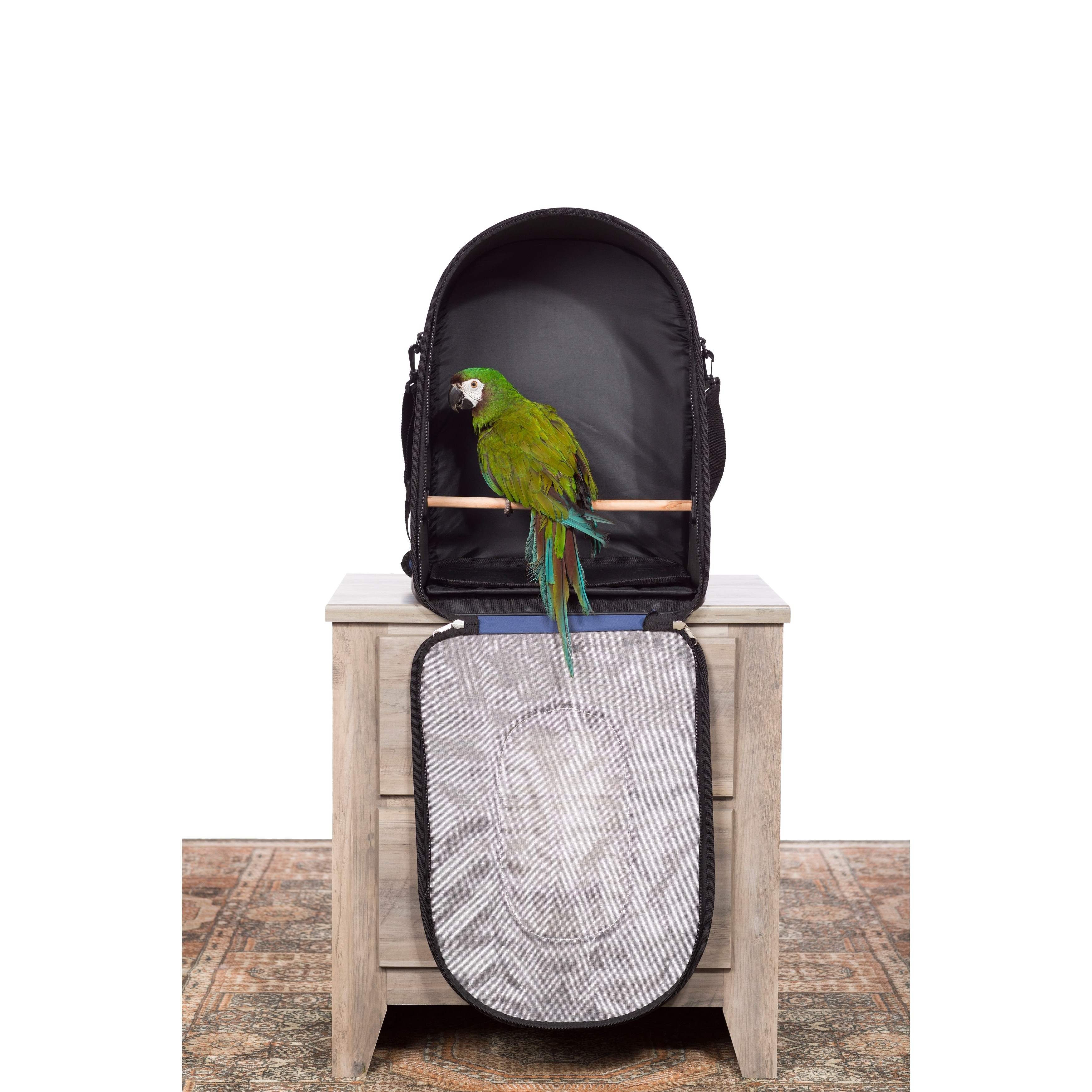 Prevue Pet Products Backpack Bird Travel Carrier With Perch 1311 Overstock 27175925