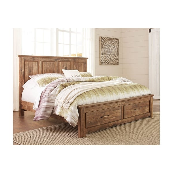 Blaneville Panel Panel Bed with Storage