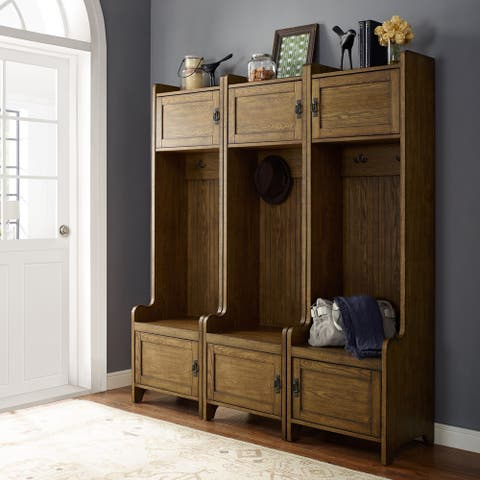 Fremont 3 Pc Entryway Kit - Three Towers In Coffee