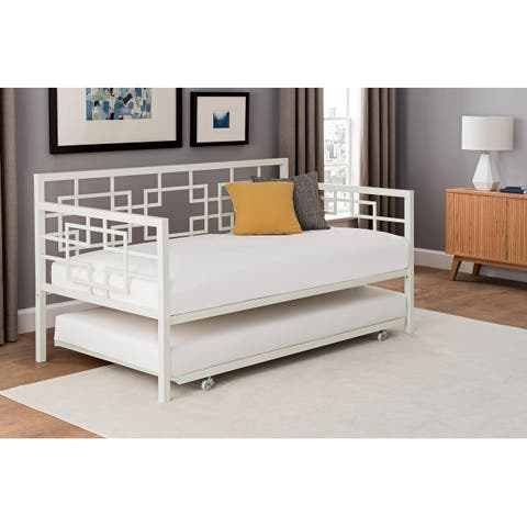 Carson Carrington Tau Twin Daybed with trundle