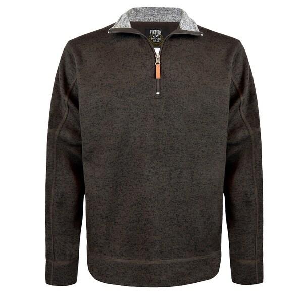 Active Quarter Zip with Fleece Lining 1//4 Zip Pullover Sweatshirt for Men