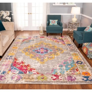 The Curated Nomad Rincon Distressed Multicolor Rug