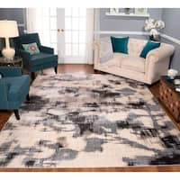 Strick & Bolton Milano Ivory/ Charcoal Area Rug
