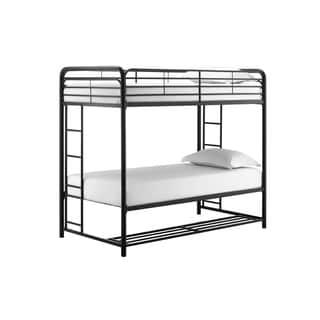 Avenue Greene Brisa Twin/Twin Bunk Bed with Storage Bins