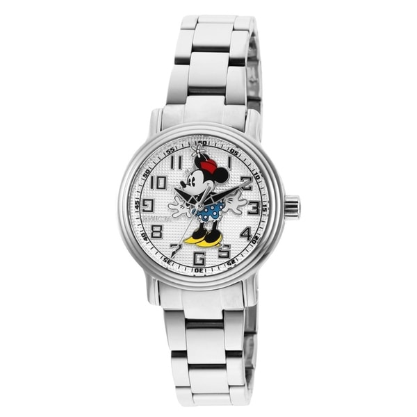 6b952233a Shop Invicta Women's Disney Limited Edition 27396 Stainless Steel Watch -  Free Shipping Today - Overstock - 27189322