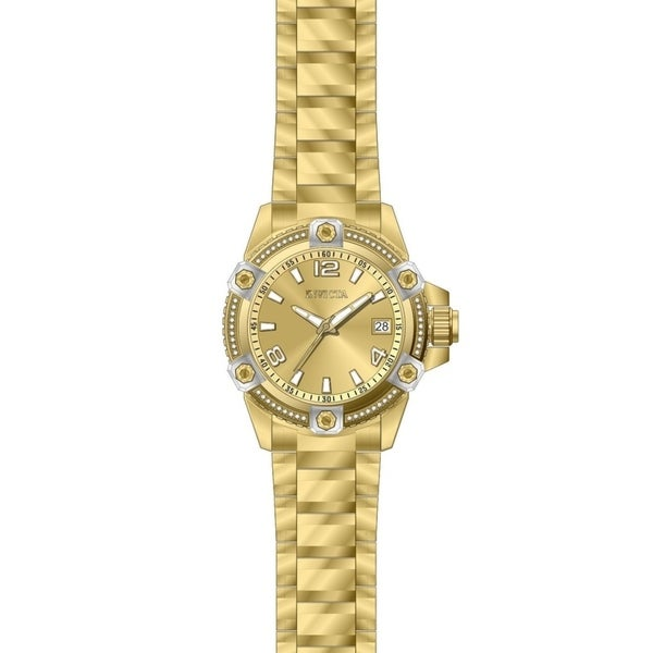 Invicta Women's Pro Diver 27888 Gold Watch