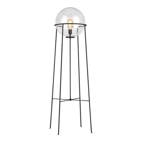 Atlas Aged Iron Steel 1-light Floor Lamp