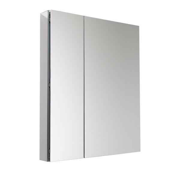 """Fresca 30"""" Wide x 36"""" Tall Bathroom Medicine Cabinet w/ Mirrors"""