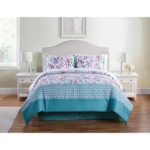 Copper Grove Dubrovno Floral Bed in a Bag Comforter Set