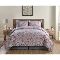 Copper Grove Uzda Medallion Bed in a Bag Comforter Set