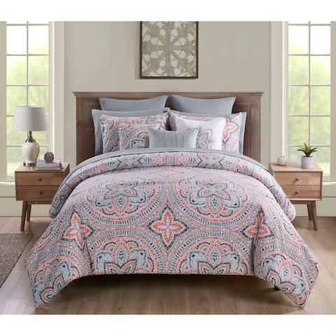 Copper Grove Uzda Medallion Bed in a Bag Comforter Set