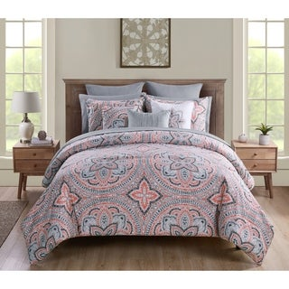 VCNY Home Janerisa Medallion Bed-in-a-Bag Comforter Set