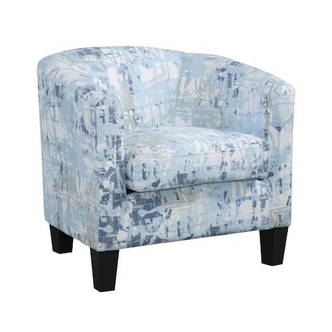 Grafton Home Enzo Barrel Chair, Slate Blue