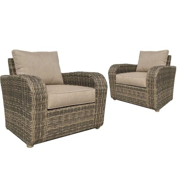 Gathercraft Brunswick Club Chair With Cushions Set Of 2