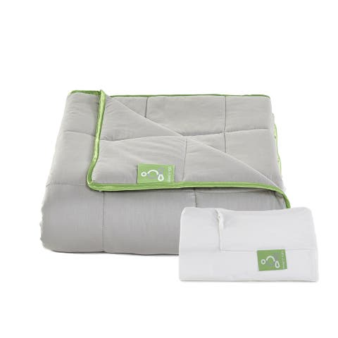 Sleep Yoga Weighted Blanket with Cotton Cover