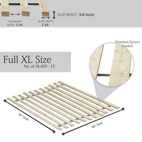 ONETAN, Vertical Wooden Bed Slats / Bunkie Board