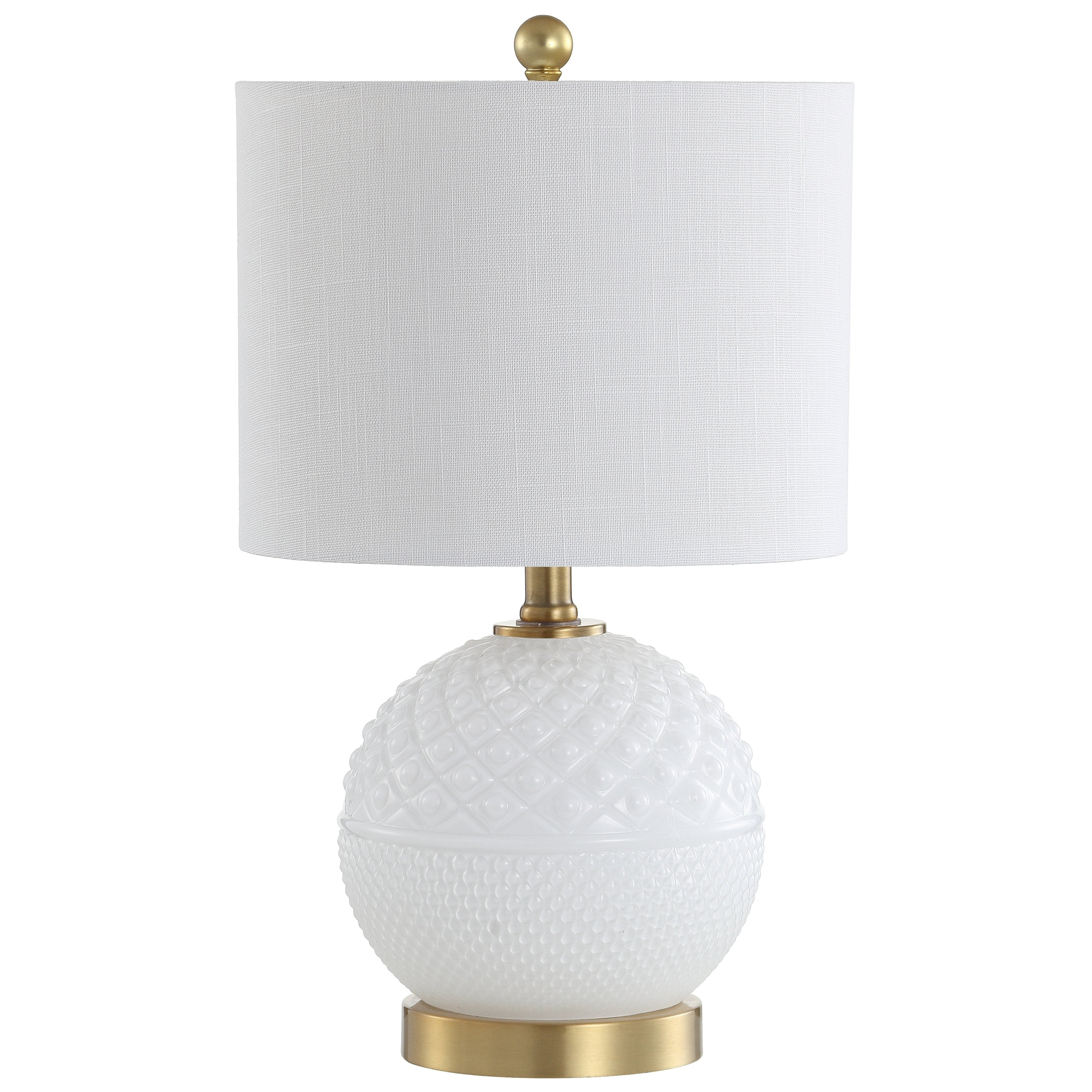 Julienne 20 5 Gl Led Table Lamp White Br Gold By Jonathan Y