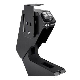 Barska Quick Access Biometric Handgun Desk Safe - Black