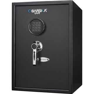 Barska 1.45 Cubic Ft Large Keypad Safe - Black