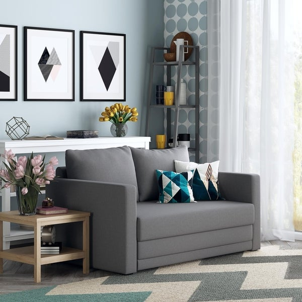 Avenue Greene Sophina Flip Loveseat Sofa Sleeper Chair