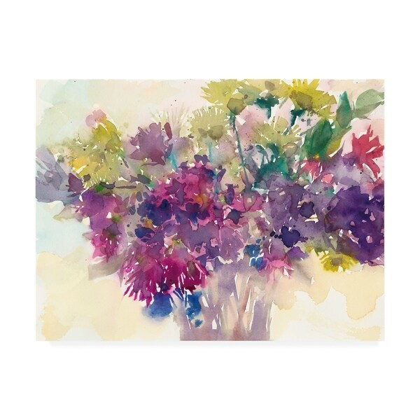 Samuel Dixon 'Color Combinations III' Canvas Art