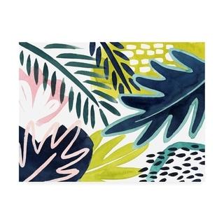 Grace Popp 'Tropical Salve II' Canvas Art