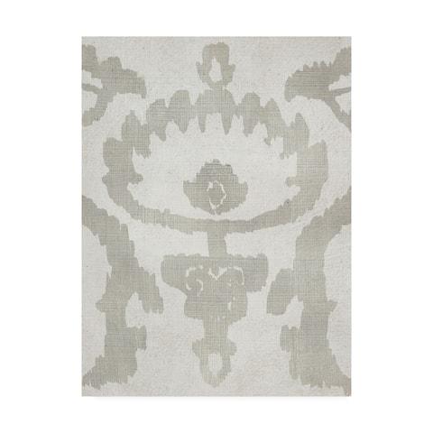 Chariklia Zarris 'Shadow Ikat VI' Canvas Art