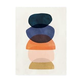 Carson Carrington Victoria Borges 'Mod Pods I' Canvas Art