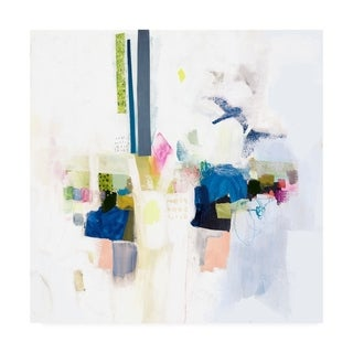 Victoria Borges 'Boardwalk Taffy I' Canvas Art