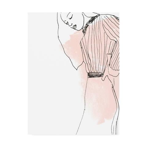 June Erica Vess 'Fashion Sketches IV' Canvas Art