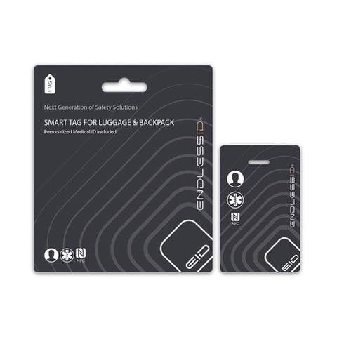 EndlessID- Luggage and Backpack Smart Tag