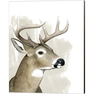 Grace Popp 'Timberland Friend I' Canvas Art