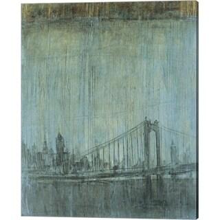Peter Kuttner 'Urban Fog II' Canvas Art