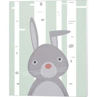 Martin Wickstrom 'Bunny' Canvas Art