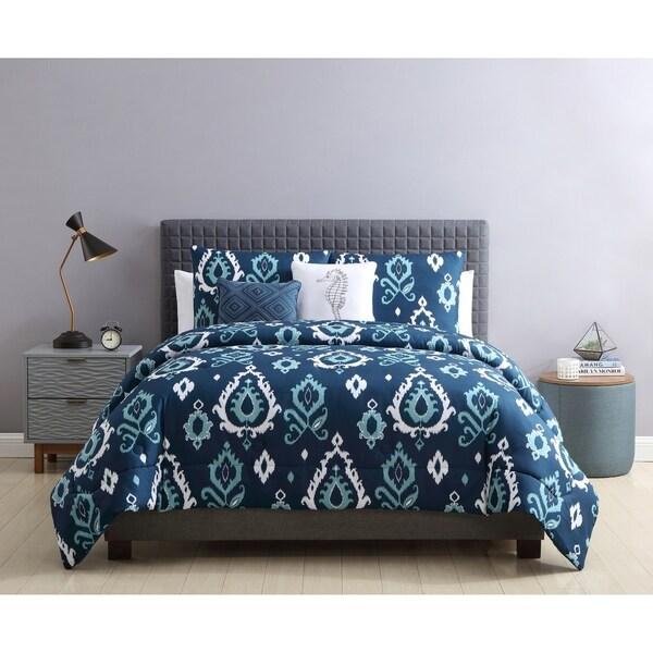 Copper Grove Fanipol Damask Comforter Set