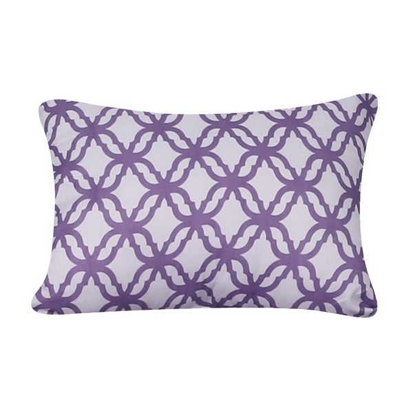 Isabelle Printed 12X18 Decorative Throw Pillow
