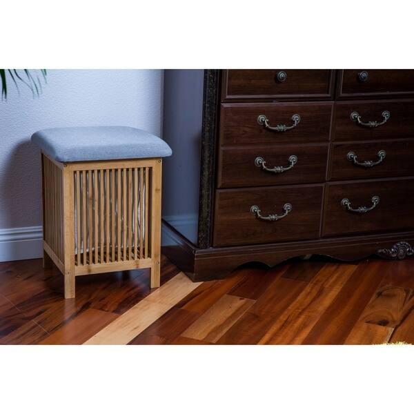 Fabulous Shop Zora Multi Purpose Bamboo Storage Basket Ottoman 21 Inzonedesignstudio Interior Chair Design Inzonedesignstudiocom